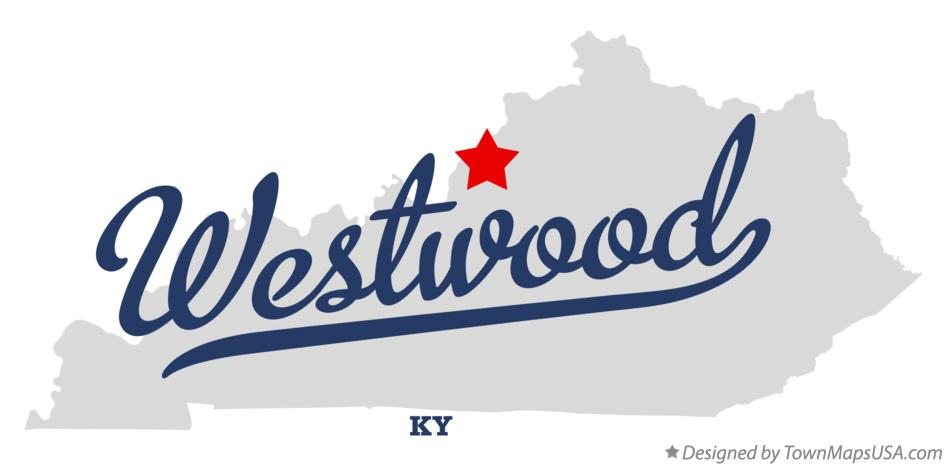 Map of Westwood Kentucky KY