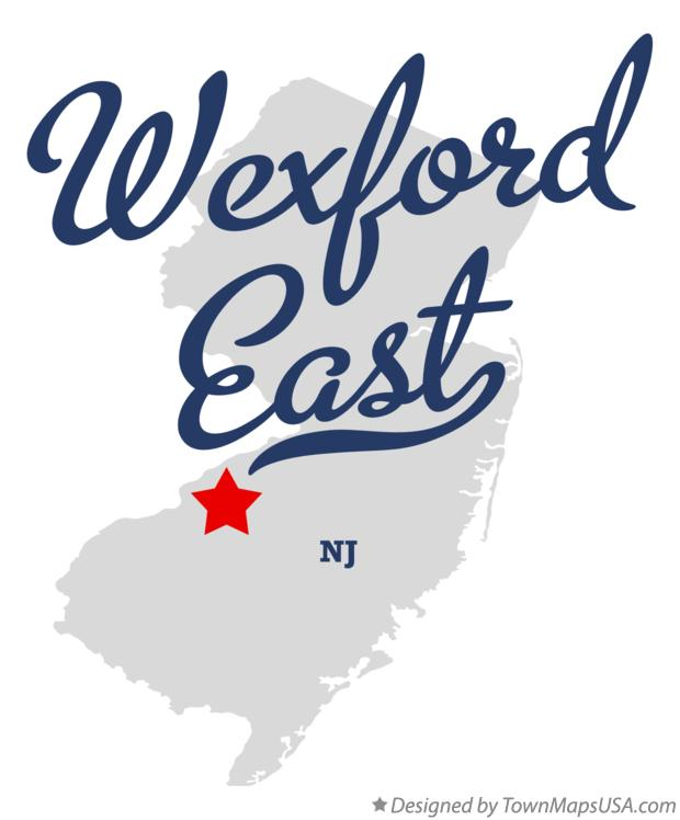 Map of Wexford East New Jersey NJ