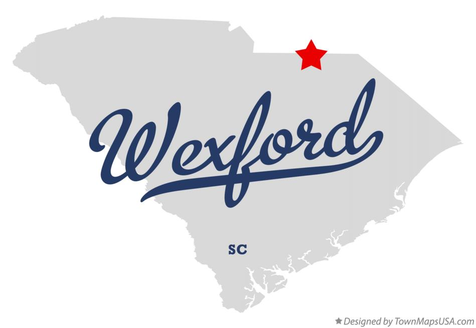 Map of Wexford South Carolina SC
