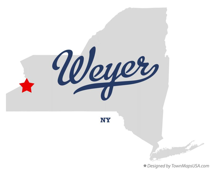 Map of Weyer New York NY