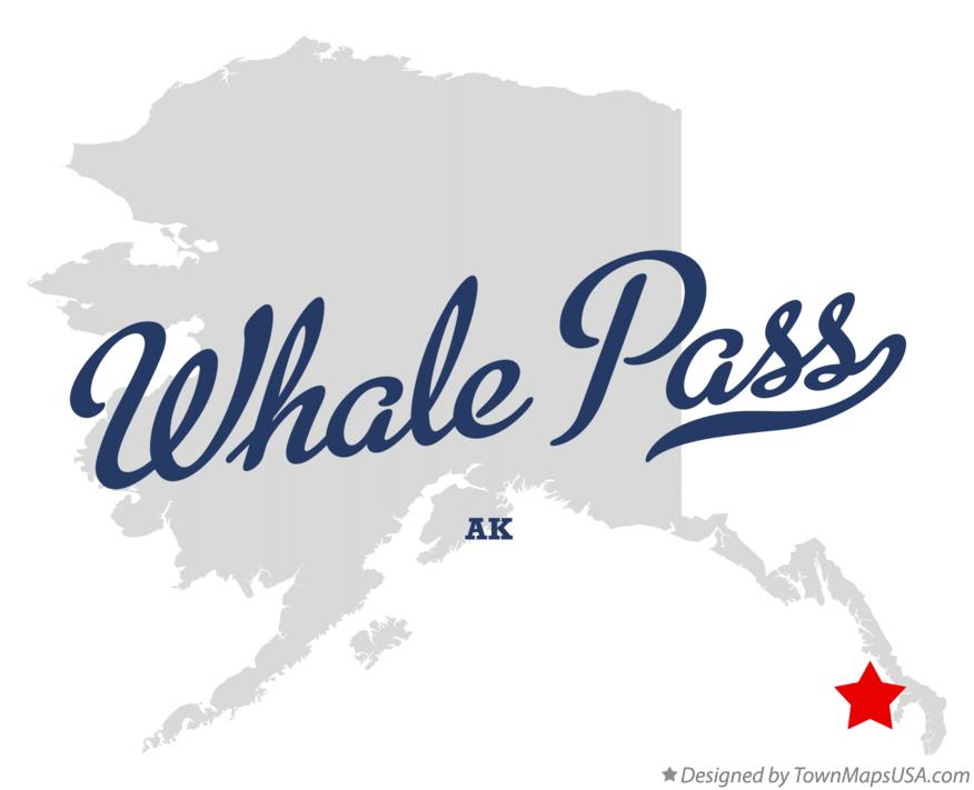 Map of Whale Pass Alaska AK