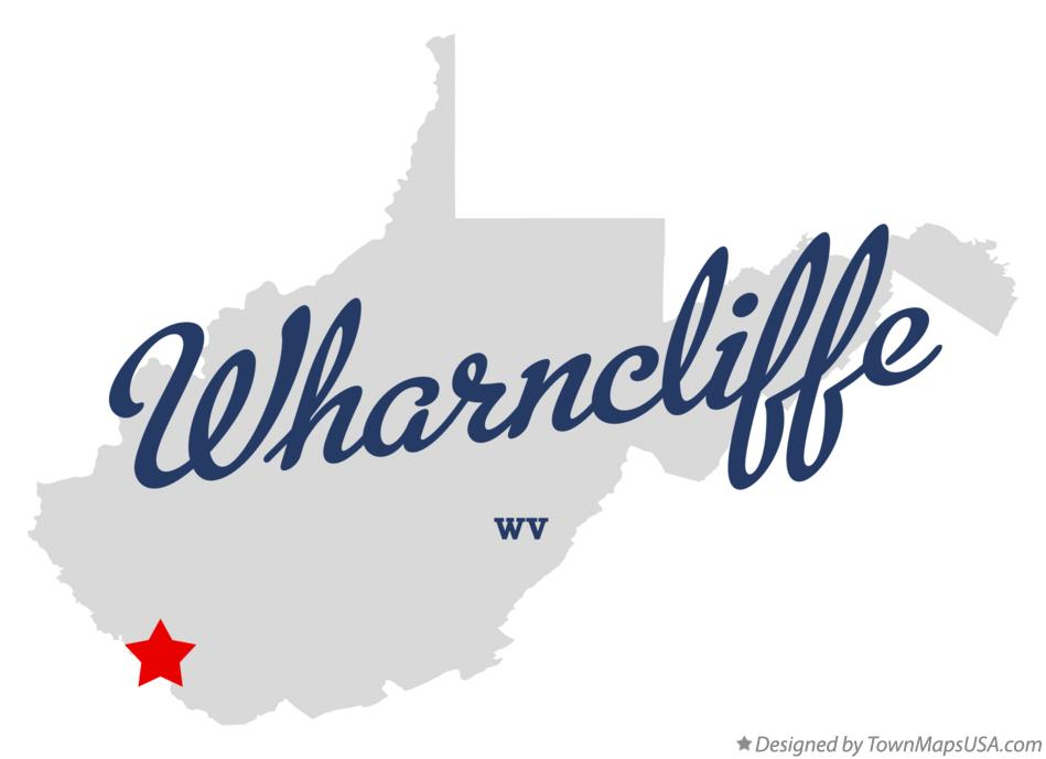 Map of Wharncliffe West Virginia WV