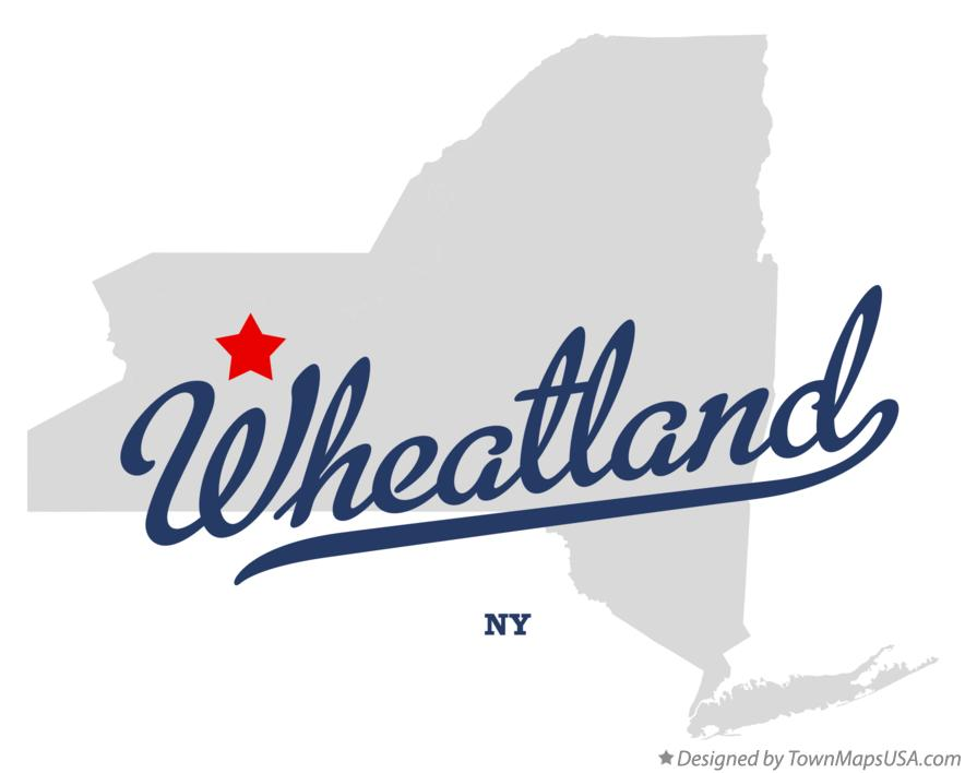 Map of Wheatland New York NY