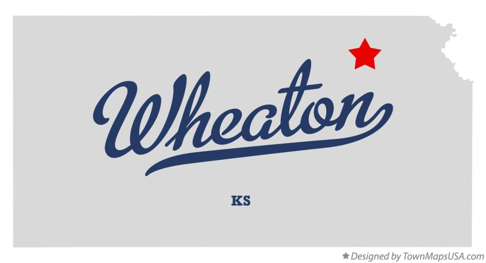Map of Wheaton Kansas KS