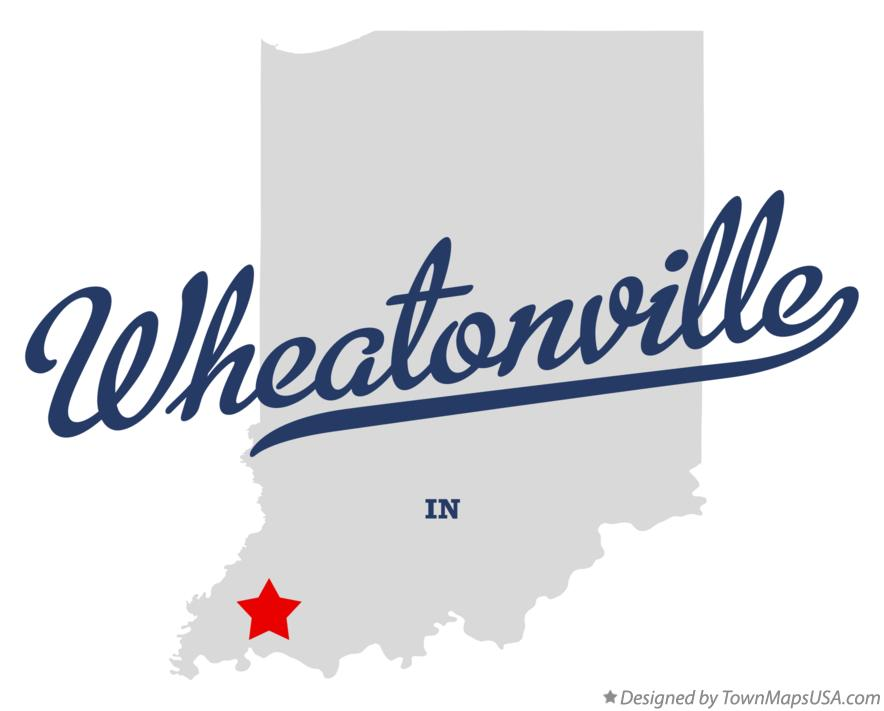 Map of Wheatonville Indiana IN
