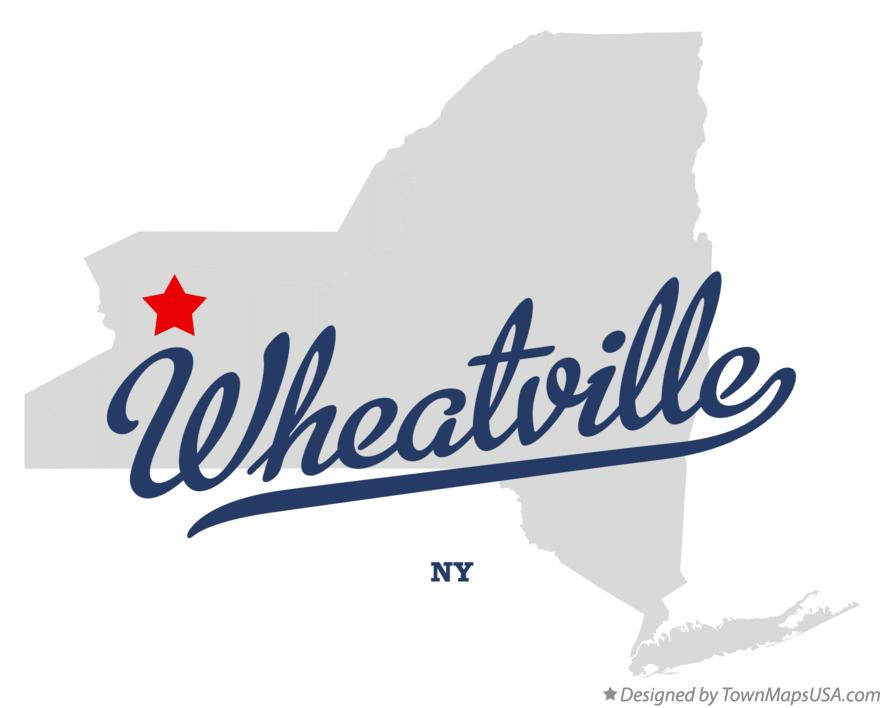 Map of Wheatville New York NY