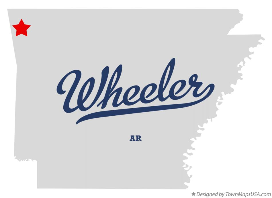 Map of Wheeler Arkansas AR