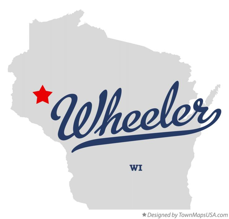 Map of Wheeler Wisconsin WI