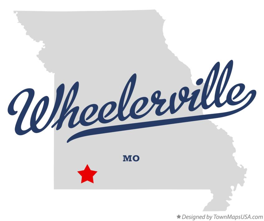 Map of Wheelerville Missouri MO