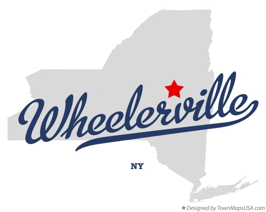 Map of Wheelerville New York NY