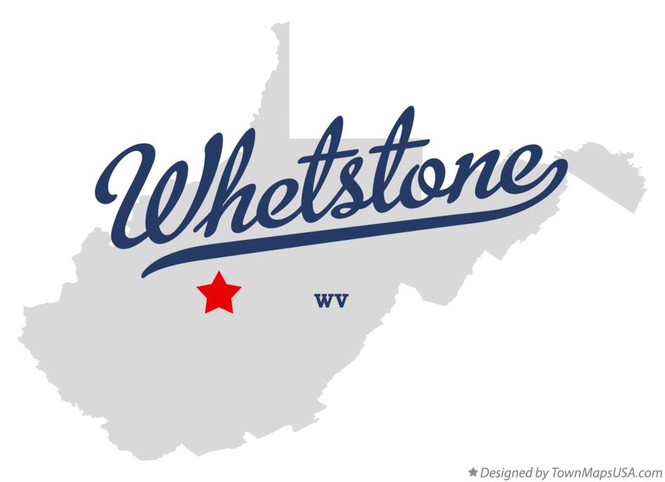Map of Whetstone West Virginia WV
