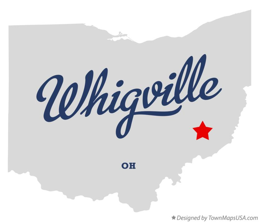 Map of Whigville Ohio OH