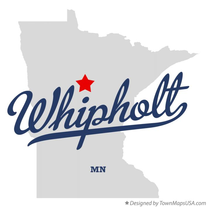 Map of Whipholt Minnesota MN
