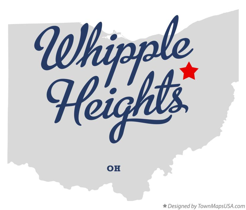 Map of Whipple Heights Ohio OH