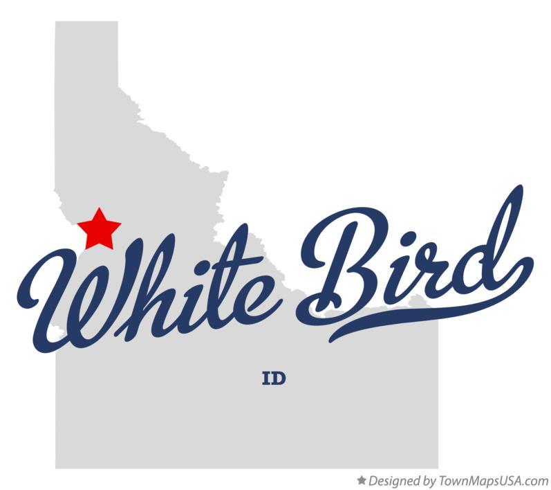 Map Of White Bird Id Idaho