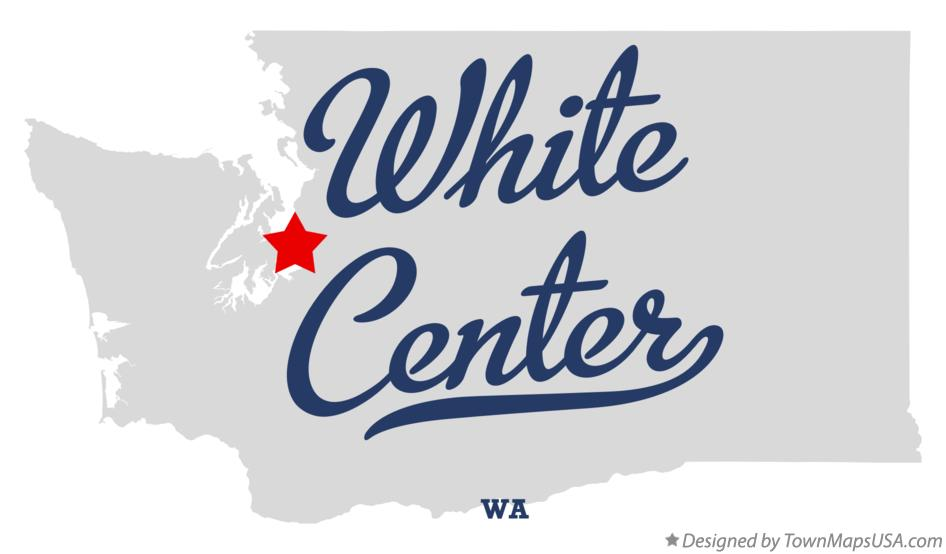 Map of White Center Washington WA