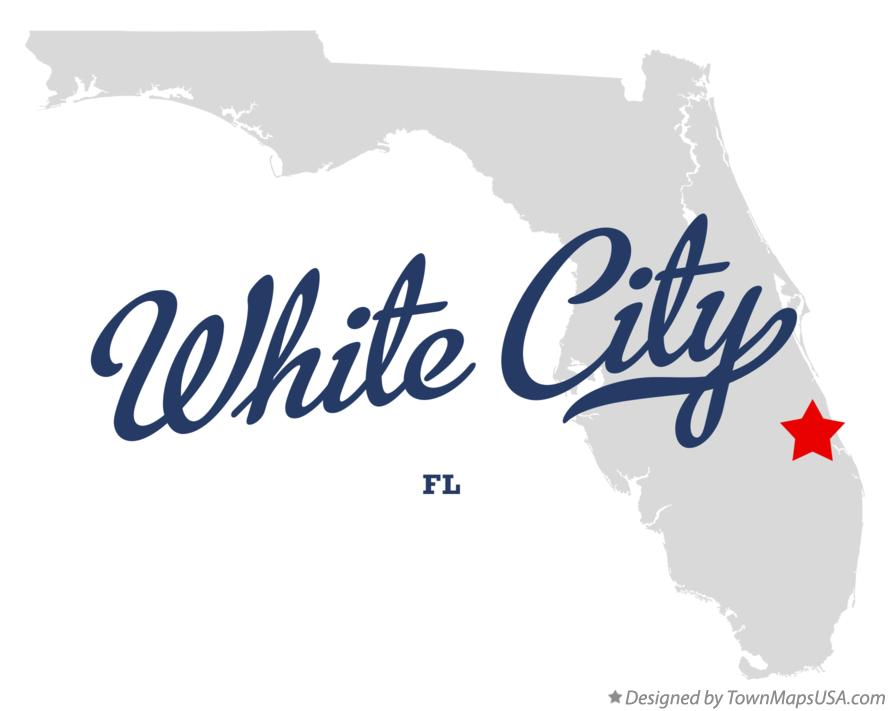 Map of White City Florida FL