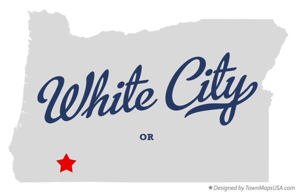 Map of White City Oregon OR