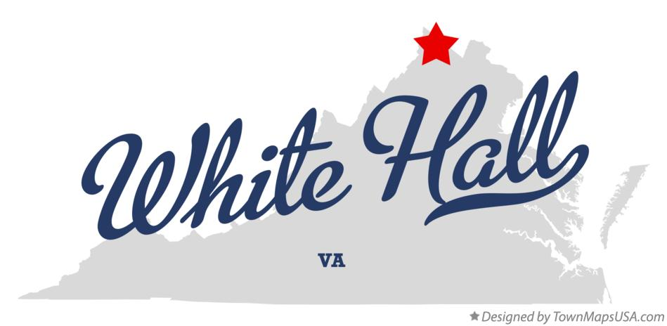 Map of White Hall Virginia VA