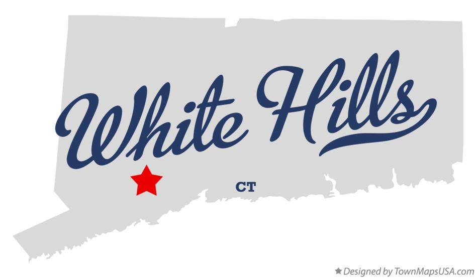 Map of White Hills Connecticut CT