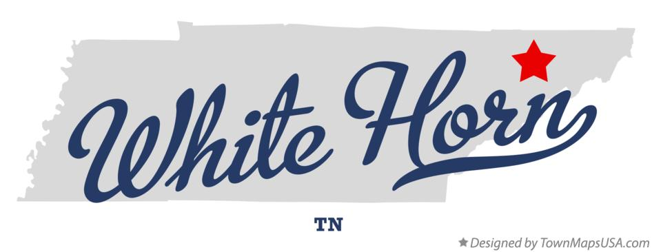 Map of White Horn Tennessee TN