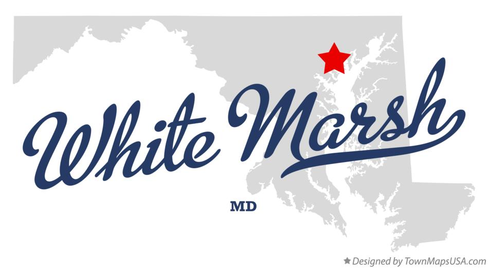 Map of White Marsh Maryland MD