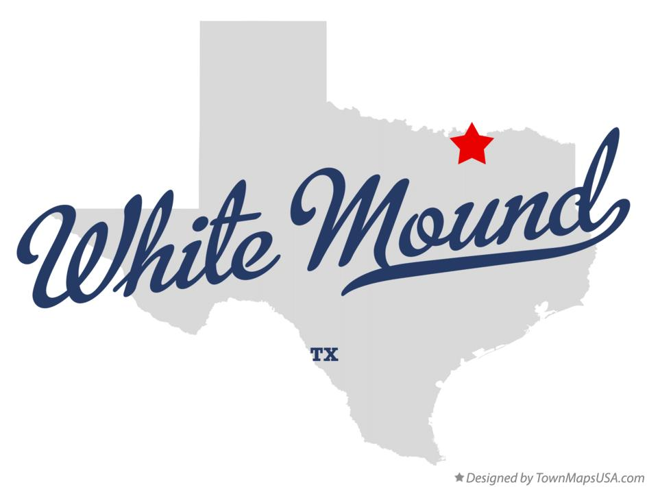 Map of White Mound Texas TX