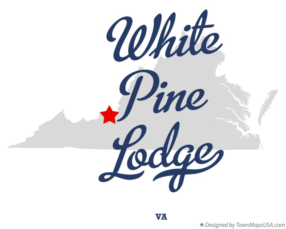Map of White Pine Lodge Virginia VA