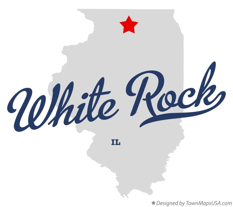 Map of White Rock Illinois IL