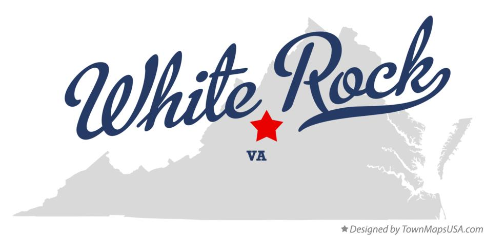 Map of White Rock Virginia VA