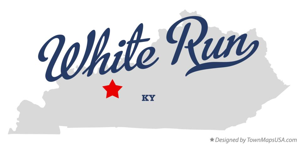 Map of White Run Kentucky KY