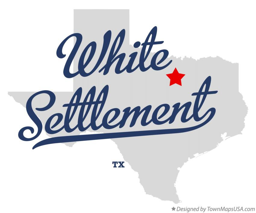 Map of White Settlement Texas TX