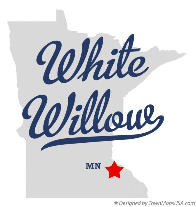 Map of White Willow Minnesota MN