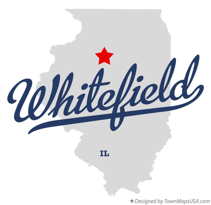 Map of Whitefield Illinois IL