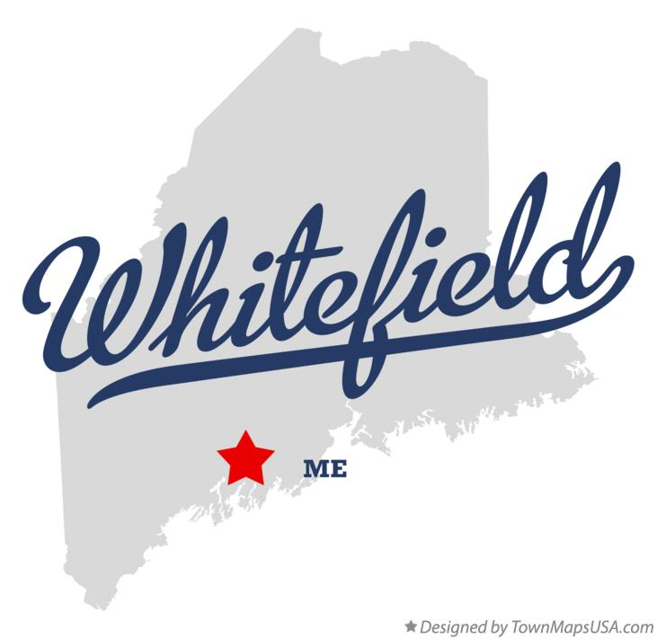 Map of Whitefield Maine ME