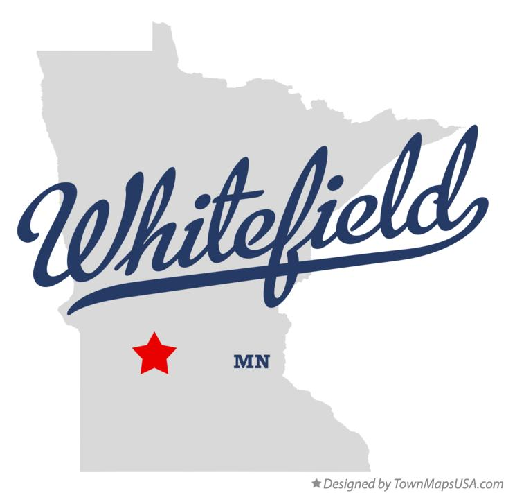 Map of Whitefield Minnesota MN