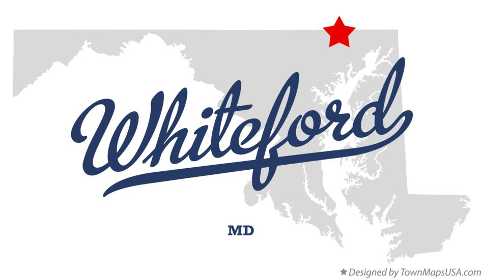 Map of Whiteford Maryland MD