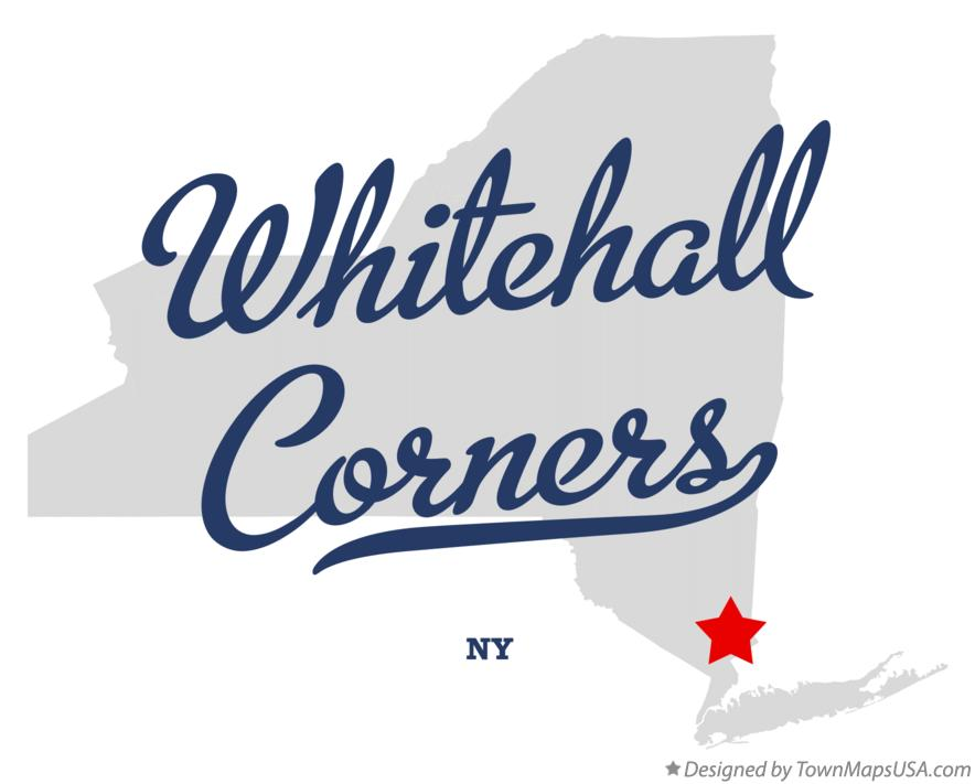 Map of Whitehall Corners New York NY