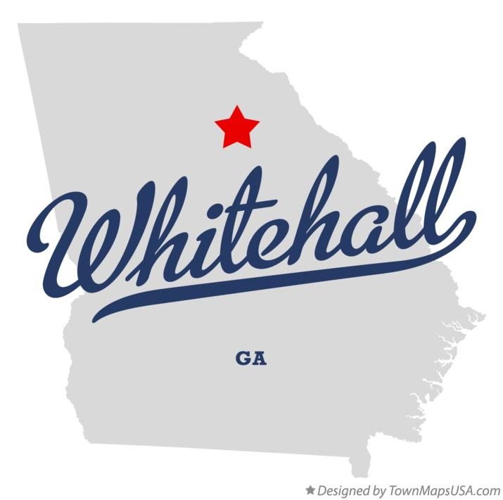Map of Whitehall Georgia GA