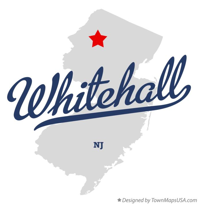 Map of Whitehall New Jersey NJ