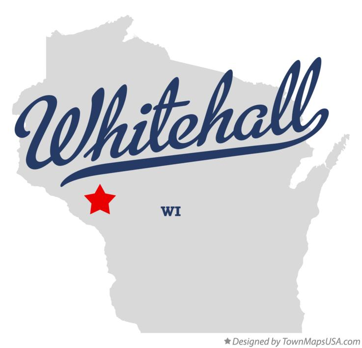 Map of Whitehall Wisconsin WI