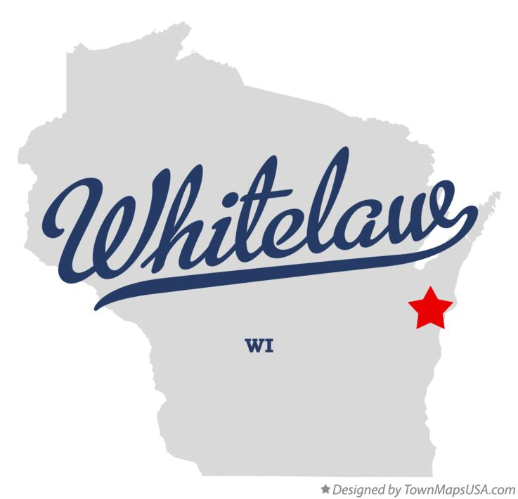 Map of Whitelaw Wisconsin WI