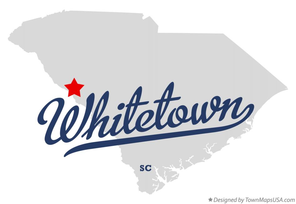 Map of Whitetown South Carolina SC
