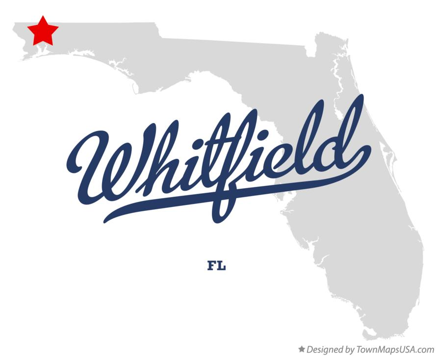 Map of Whitfield Florida FL