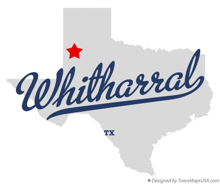 Map of Whitharral Texas TX