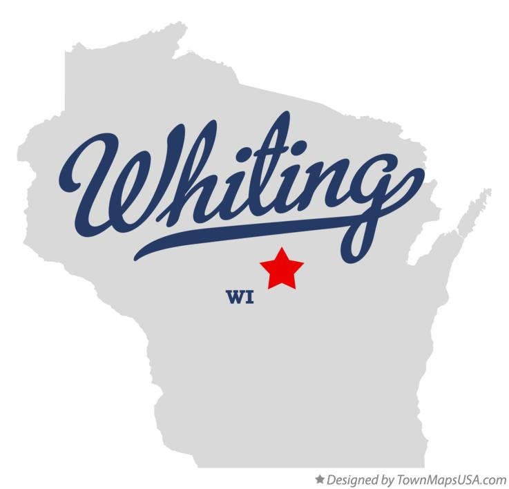 Map of Whiting Wisconsin WI
