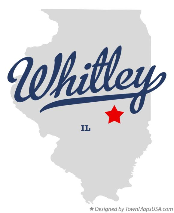 Map of Whitley Illinois IL