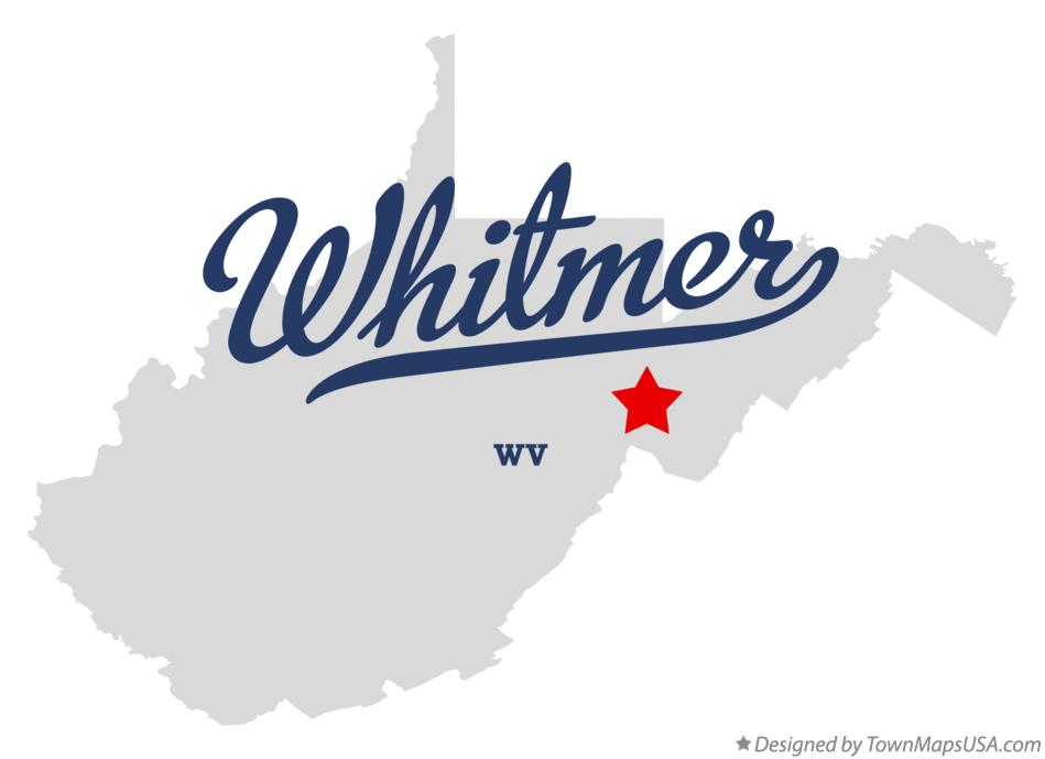 Map of Whitmer West Virginia WV