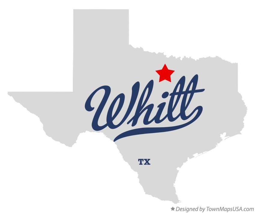 Map of Whitt Texas TX