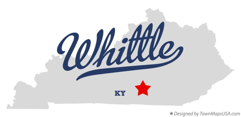 Map of Whittle Kentucky KY